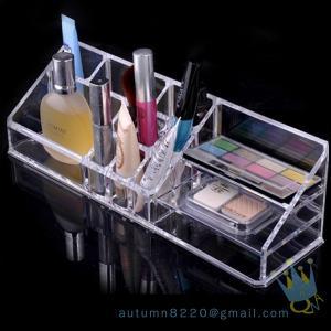 China acrylic cosmetic drawer organizer wholesale