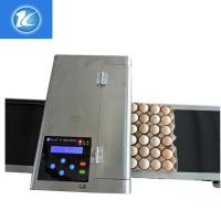 China Automatic Egg High Resolution Inkjet Printer With ABC Standard Printing Font wholesale