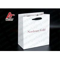 China Single LOGO Custom Printed Paper Bags For Shopping Mall / Supermarket on sale