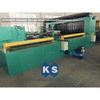 China 5kw Automatic Wrapped Edge Gabion Machine Edge Wrapping Machine 4 Meter wholesale