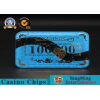 China Gambling Products Plastic Bargaining Chip Shape For Entertainment Club wholesale
