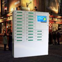 China 24 Door Big Screen Mobile Phone Charging Kiosk For Russia Accept Ruble Coins And Papermoney wholesale