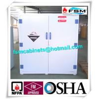 China PP Safety Hazardous Storage Cabinets For Acid Corrosive Chemical Liquid wholesale