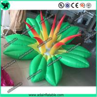 China Autumn Holiday Indoor Event Party Decoration Inflatable Green Flower With LED Light wholesale