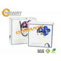 China Customized PVC Clear Plastic Packing Boxes / Cosmetic Paper Box wholesale