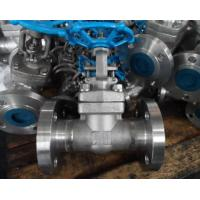 China F304 High Pressure Forged Gate Valve Threaded / Butt Weld / Socket Weld End/Bolted bonnet design API602 wholesale