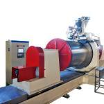 China Diameter 600mm Wedge Wire Screen Welding Machine , Wire Mesh Making Machine wholesale