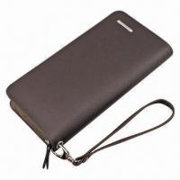 China Leather Wallet, OEM/ODM Orders are Welcome, with 200pcs MOQ wholesale