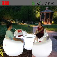 China 2016 Hot Selling Whaterproof Furniture LED Glowing Chair For Outdoor Yard Garden Party Club Event Park wholesale