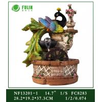 China Resin Peacock Water Fountain wholesale