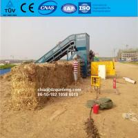 China CE certificated hydraulic square straw hay baler with best quailty wholesale