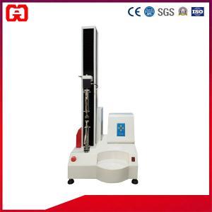 China Automatic Utm Single Column Ultimate Leather Tensile Strength Testing Equipment, 5-200KG Force Sensor wholesale