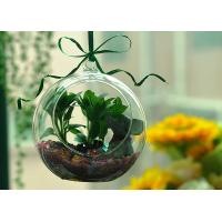 China Hanging Glass Teardrop Candle Holders wholesale