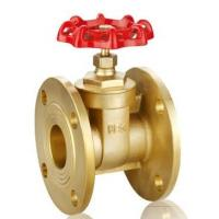 China ASTM B62 Bronze Gate Valve 150 LBS Flat Face Flanged ANSI B16.24 wholesale
