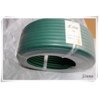 China Green Polyurethane Round Belt With Rough Surface Used In Tobacco Transmission Line wholesale