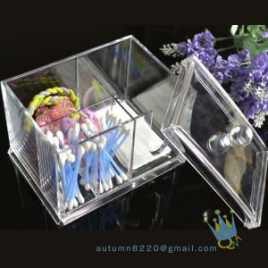 China acrylic cosmetic organizer boxacrylic magazine organizer wholesale