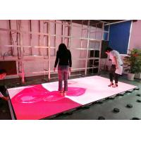 China Full Color Indoor Video Led Dance Floor High Definition With 3 Years Warranty wholesale