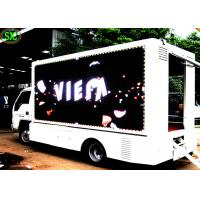 China Mobile LED Screen Truck Full Color Vehicle Mounted Led Truck Advertising Pitch 6mm wholesale