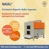 Buy cheap Dry Type Magnetic Roller Separator Series Permanent Magnetic Separator For Minerals Quartz Feldsparsand from wholesalers