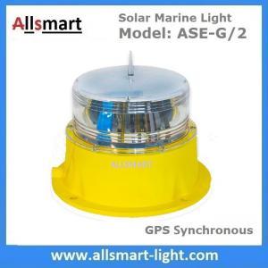 China 5NM Solar Marine Lights GPS Solar Marine Lantern Solar Marine Beacons Solar Navigation Lights for Ship Vessel Boat wholesale
