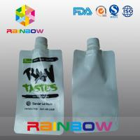 China White Stand Up Spout Pouch Packaging For Raw Jam  / Liquid / Drinking Food wholesale