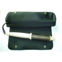 Buy cheap Personal Silver Electric Hair Curler Comb For DIY Hair Anti Static , Ceramic Coated Barrel from wholesalers
