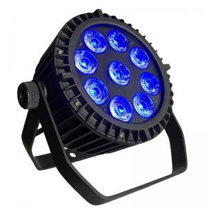 China 9*10W Waterproof LED Par Light / LED Par 64 Lights With DMX512 Control on sale