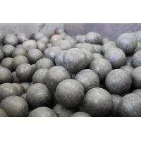 China Carbon / Alloy Steel Forged Steel Ball GCr15 Grade Steel Grinding Balls For Cement Plants wholesale