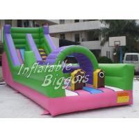 China Waterproof PVC Inflatable Obstacle Course Custom Durable For Commercial wholesale