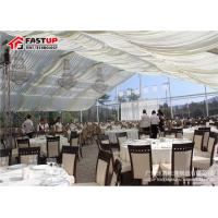 Quality Contemporary Outside Wedding Tents , Flameproof Clear Wedding Tent OEM Available for sale