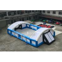 China Outdoor Inflatable Sports Games PVC Inflatable Football Field Court wholesale