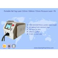 China Customized 1064 Yag Laser Hair Removal , Nd Yag Laser Machine No Injury To Skin wholesale