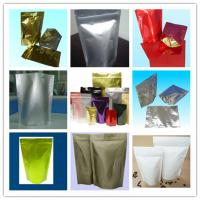China 130mic PET / AL / NY / PE Aluminum Ffoil Stand up Bags wholesale