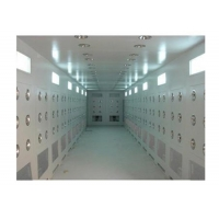 China 30 m/s Air Shower Tunnel For Goods Powder Coated Steel SUS Cabinet wholesale