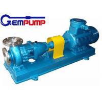 China IH Horizontal Single Stage Chemical Centrifugal Pump for  food industry pump wholesale