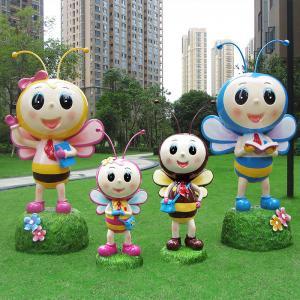 China Decoration Iron Garden Sculptures ,  Matte Large Animal Statues wholesale