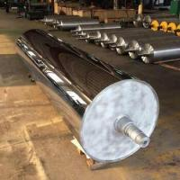 China Big Size Mirror Roller With Polishing Machine , Concentricity Less Than 0.02mm wholesale
