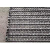 China 316 Ss Food Grade Balanced Weave Conveyor Belts For Vegetables Dehydrated Oven on sale