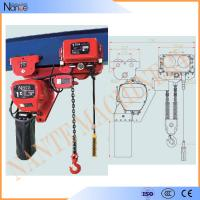 China 250kg - 50ton Manual Chain Hoists , Construction Wire Rope Electric Hoist on sale