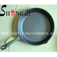 China cast iron frying pan with short handle wholesale
