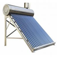 China stainless steel non-pressurized solar hot water system on sale