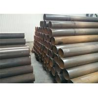 China Hot Dipped Electric Resistance Welding Pipe Carbon Steel Material For Sewage Disposal Plant wholesale
