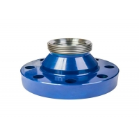 China Api 6a Oilfield 15000 Psi Fig 1502 Pipe Flange Adapter Material 4130 With Weco Union wholesale