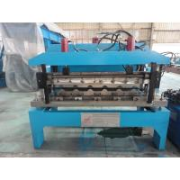 China 0.6mm Glazed Steel Sheet Roof Tile Forming Machine Hydraulic Decoiler 5 Tons wholesale