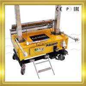China Construction Spray Plastering Machine Rendering Block Wall Ez Renda wholesale