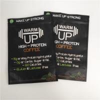 China Matte Black Biodegradable Stand Up Zipper Pouch Bags Plastic Mylar Coffee Sachet Packaging wholesale