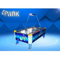 China Blue Classic Coin Operated Arcade Machines Indoor Sport Game / Air Hockey Table on sale