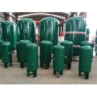 China 400 Gallon Vertical Industrial Compressed Air Receiver Tanks High Temperature Resistant wholesale