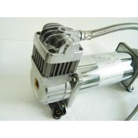 China 150PSI Chrome 1.75CFM Heavy Duty Portable Air Shock Compressor 12v With Air Tank wholesale