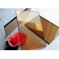 2 mm - 19mm Thickness Color Coated Glass Flat Structure For Industrial Buildings